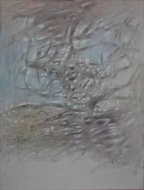 Abstrakt, Malerei, Baum