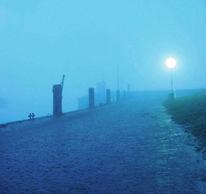Nebel, Hafen, Blick