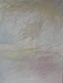 Abstrakt, Weiß, Malerei, Vogel