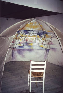 Kuppel, Malerei, Dreidimensional