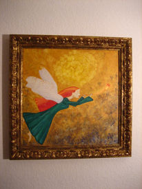 Engel, Malerei, Figural