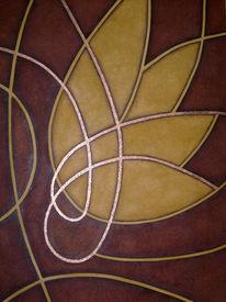 Ölmalerei, Malerei, Blüte,