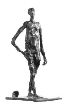 Figural, Bronzeguss, Bronze, Skulptur