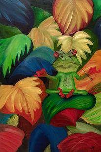Malerei, Guru, Frosch