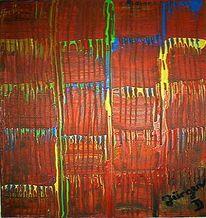 Farben, Menschen, Malerei, Abstrakt