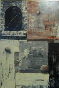 Sinnbildlich, Malerei, Abstrakt