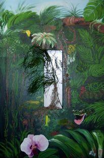 Vegetation, Pflanzen, Animalische, Urwald