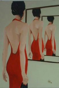 Surreal, Allegorie, Person, Malerei