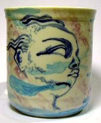 Kunsthandwerk, Keramik, Tasse