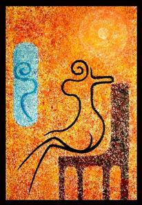 Pointillismus, Surreal, Malerei, Symbolismus