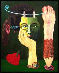 Expressionismus, Surreal, Ölmalerei, Malerei