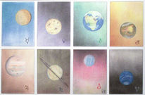 Mars, Neptun, Universum, Jupiter