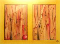 Pastellmalerei, Aquarellmalerei, Ballon, Zeichnungen