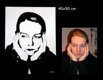 Portrait, Pop art, Geschenkidee, Geburtstag
