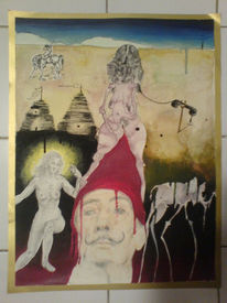 Dalí, Hass, Surrealisme, Contre