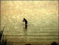 Wasser, Ersuchen, Mann, Fotografie