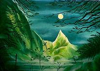 Landschaft, Malerei, Mystik,