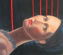 Malerei, Portrait, Dame