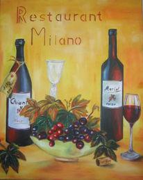 Wein, Trauben, Gaststätte, Milano