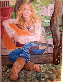 Blues, Musik, Figural, Sängerin