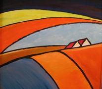 Landschaft, Malerei, Geborgenheit