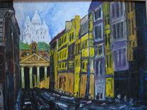 Landschaft, Malerei, Paris