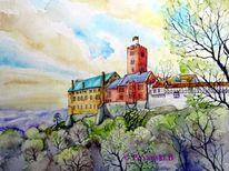 Wartburg, Eisenach, Thüringen, Burg