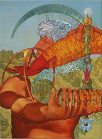 Gemälde, Ölmalerei, Repczuk, Surreal