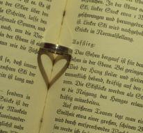 Schatten, Ring, Liebe, Herz
