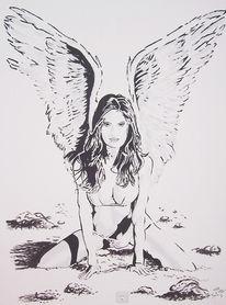 Reiz, Angel, Engel, Malerei