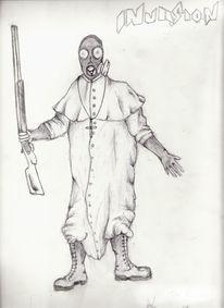 Zeichnung, Papst, Zeichnungen