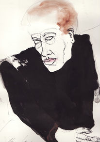 Zeichnung, Mann, Zeichnungen, Menschen