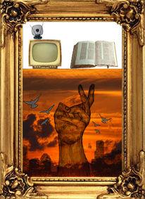 Freak, Digitale kunst, Welt, Gott