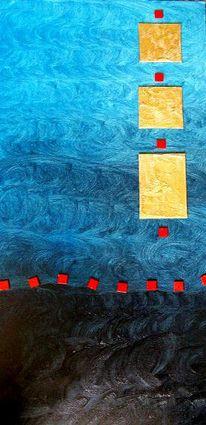Kachel, Rot, Ölmalerei, Fantasie