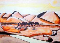 Sand, Brau, Kamel, Beige