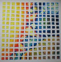 Zerschneiden, Aufgeklebt, Universum, Collage