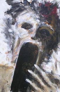 Kopf, Portrait, Acrylmalerei, Aktivismus