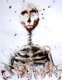 Mode, Kopf, Acrylmalerei, Tod