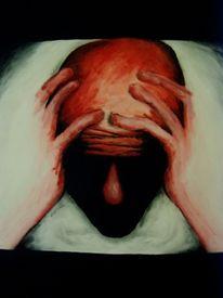 Gesicht, Malerei, Kopf, Schatten