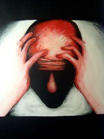 Malerei, Gesicht, Schatten, Kopf