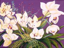 Blumen, Pflanzen, Blüte, Orchidee