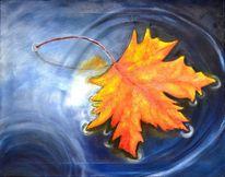 Ahorn, Bunt, Herbst, Herbstfarben