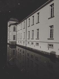 Schwarzweiß, Minimalistisch, Landschaft architektur, Urban stadt