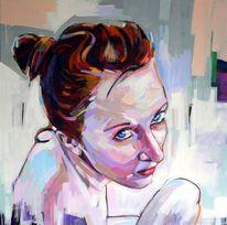 Frau, Malerei