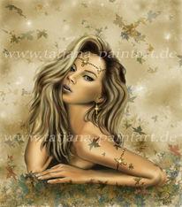 Fantasie, Figural, Portrait, Frau