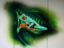 Frosch, Skizze, Zeichnung, Zeichnungen