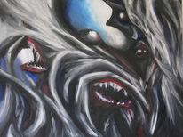 Monster, Malerei