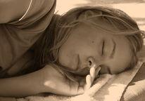 Mädchen, Schlaf, Fotografie, Menschen