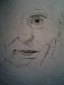 Portrait, Mann, Zeichnungen, Menschen