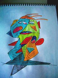 Skizze, Zeichnungen, Mann